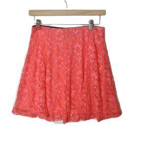 Sweet Rain Lace Skirt Pink M
